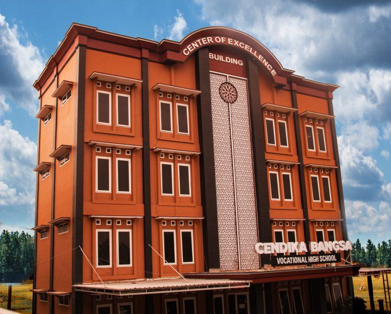 Gedung SMK Cendika Bangsa